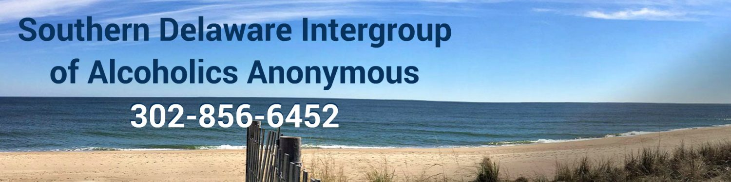 Southern Delaware Intergroup Staging Site